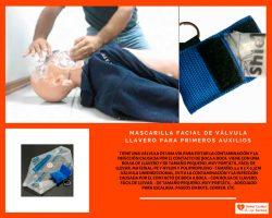 MASCARILLA-FACIAL-DE-VÁLVULA-LLAVERO-PARA-PRIMEROS-AUXILIOS